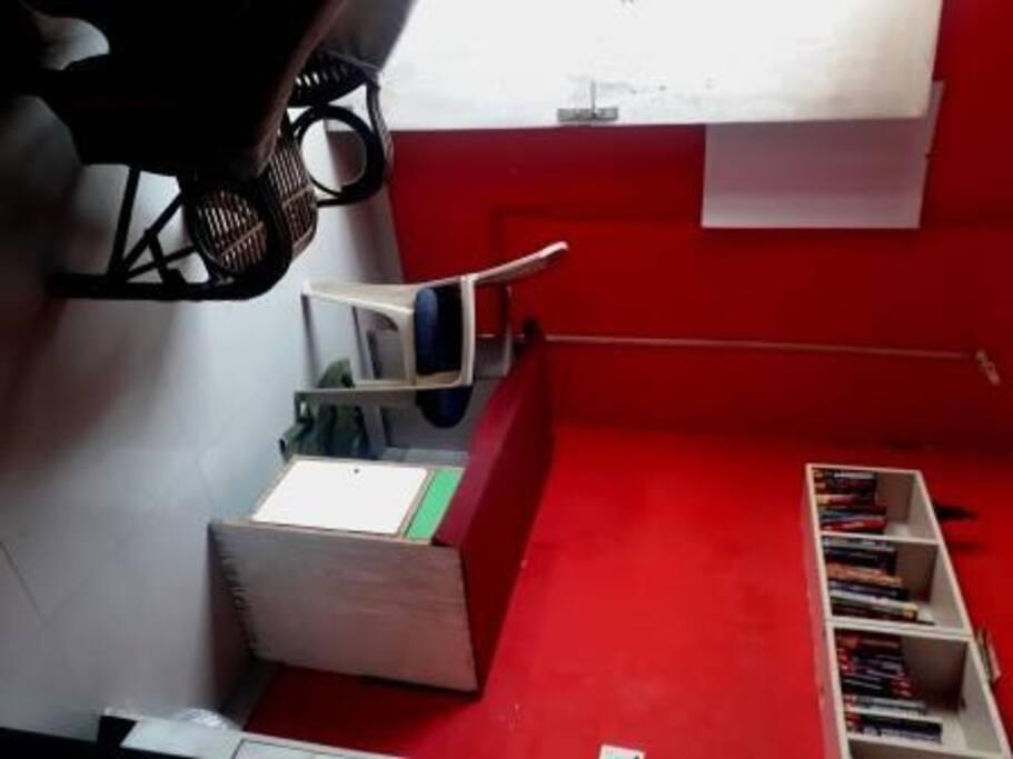 Study inside Bedroom