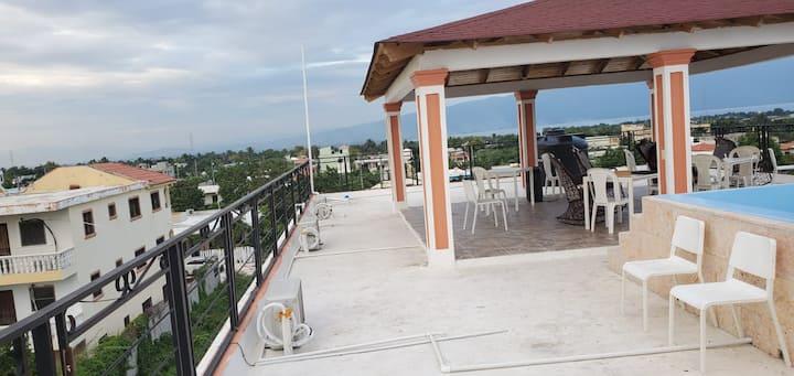 Rm-201. Barahona Rooftop Gem