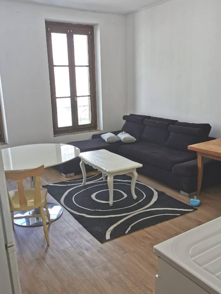 Appartement au calme F2 a 1h de Paris Austerlitz