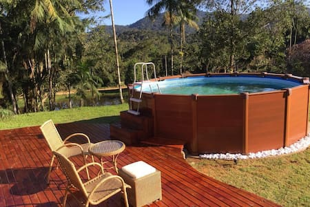 Amazing house in Atlantic Forest - Peruíbe