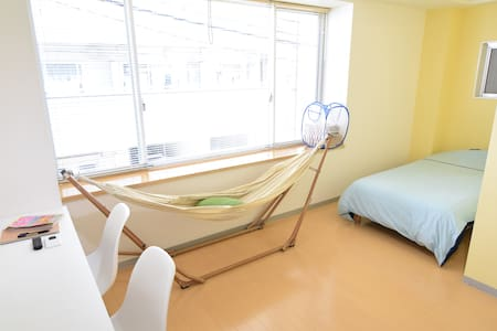 Only 4min Station/Max3Guest/hammock - Taitō-ku - Appartement