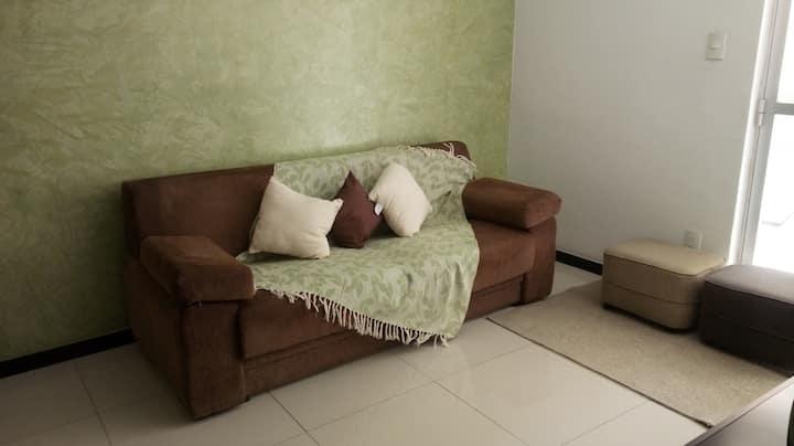 Apartamento mobiliado Luzia