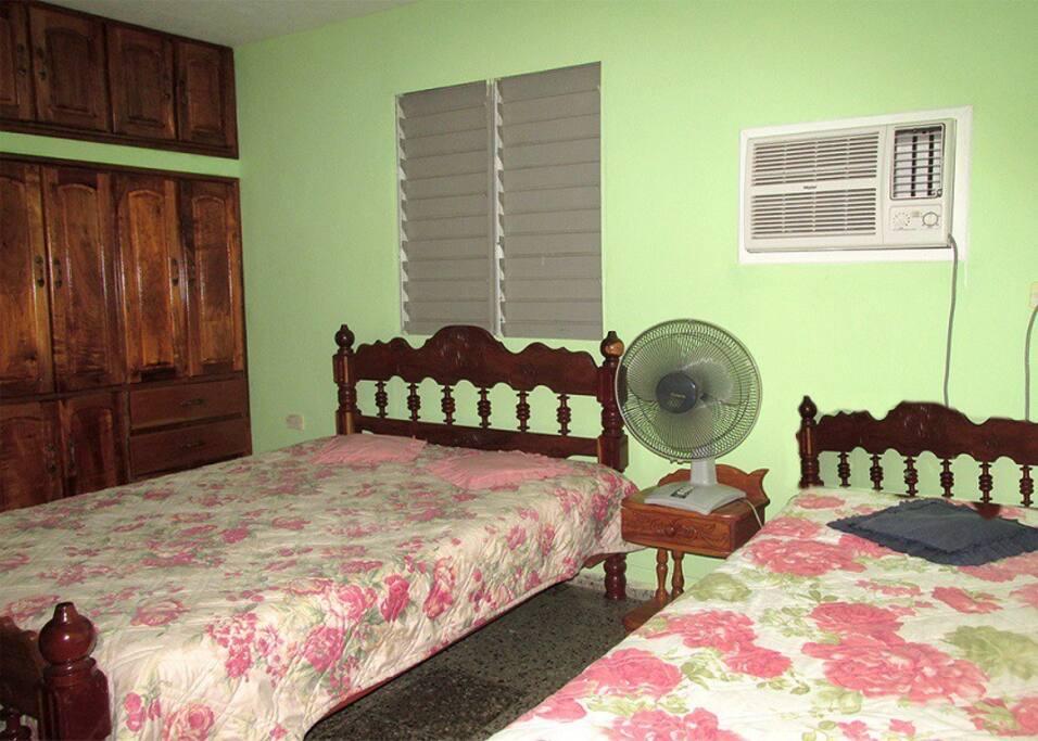la tranquila habitacion