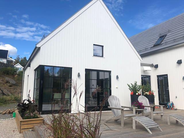 Idylliske Flødevigen på Hisøy.