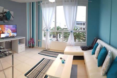 Piso 2+2 cómodo, nuevo y acogedor. - Puerto del Rosario - Lejlighed