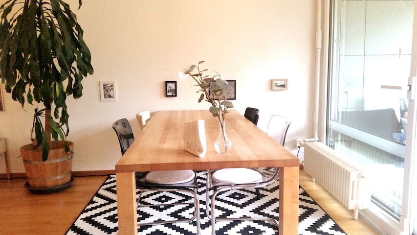 STYLISH APARTMENT, LOVLEY BALKONY, 7MIN TO CENTER