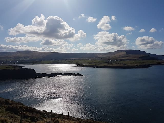 Double bedroom (private en suite), Portmagee