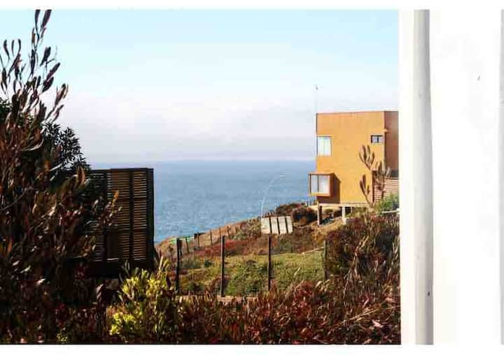 Casa maitencillo hermosa vista al mar