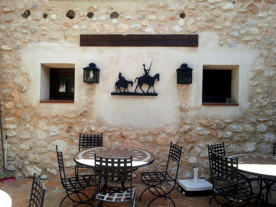 "terraza ""El Quijote"""