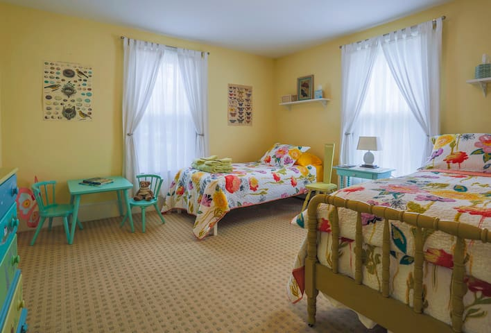 Second Bedroom has a double bed (full size) and a twin bed