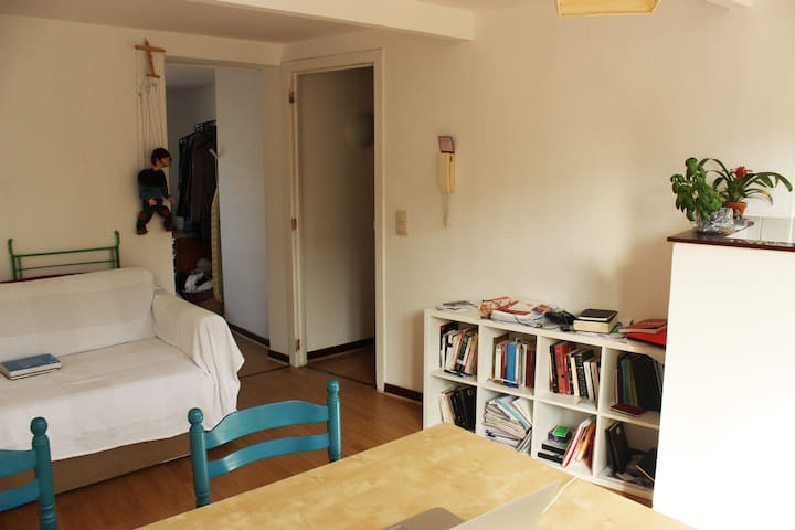 Bright and cozy appartment in Marolles
