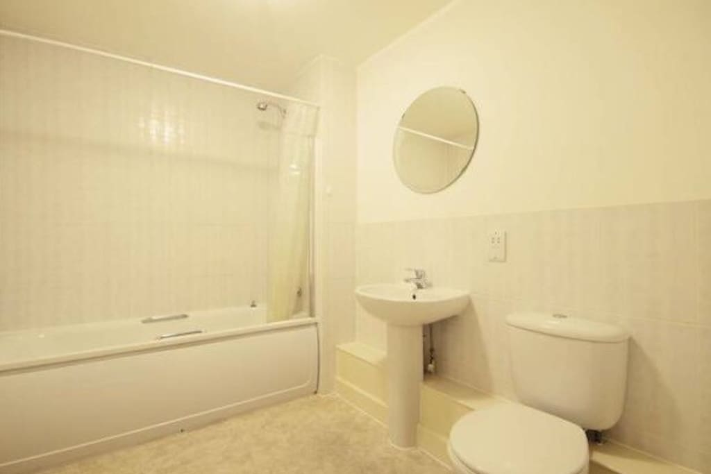 Large bathroom only for guests