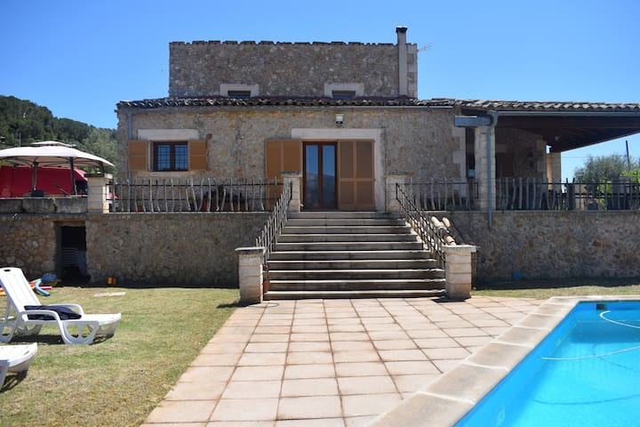 Wonderful house with private pool in Mallorca
