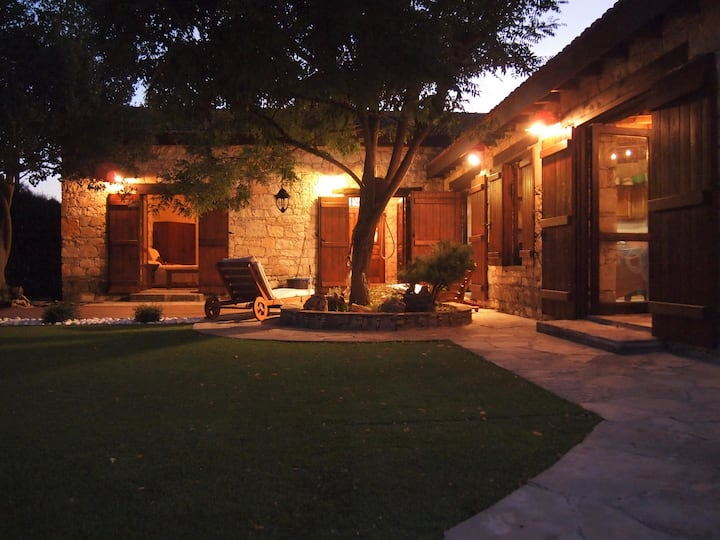 A beautiful listed villa in Laneia village