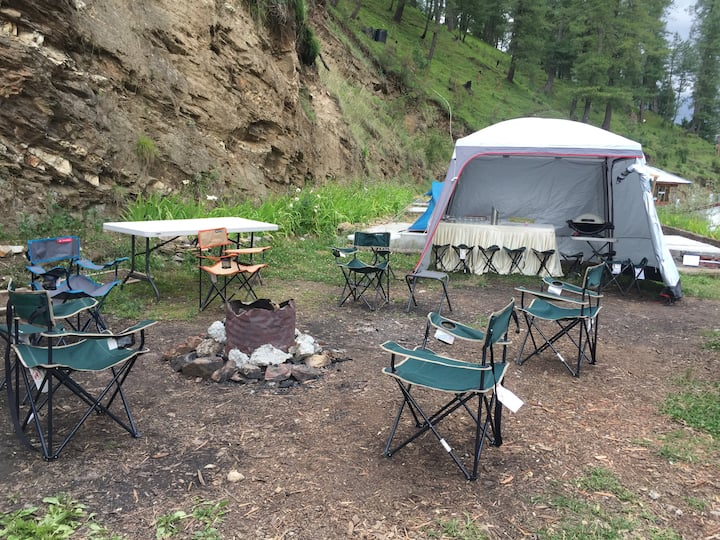 Camping In the Himalayas | BF & Dinner|