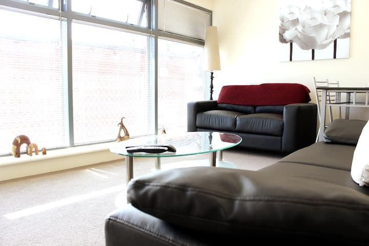 Winckley Sq city centre apartment