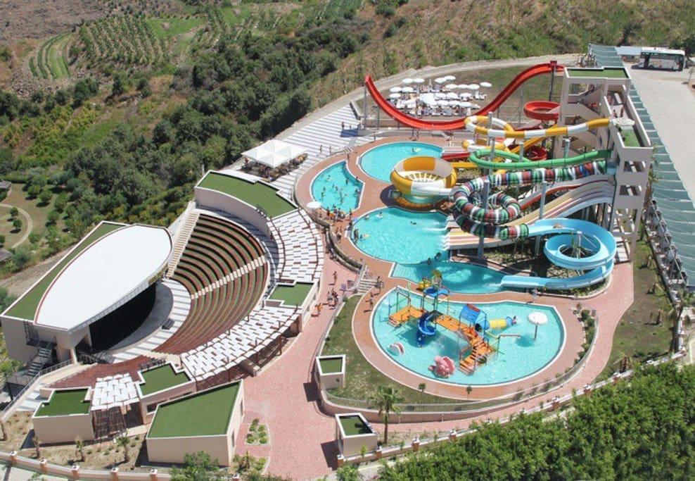 Aqua park disponible pour vos enfants