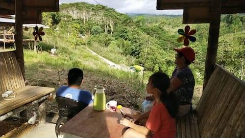 Alvenda along highschool  Mutia Zamboanga del Norte Mountain Campsite