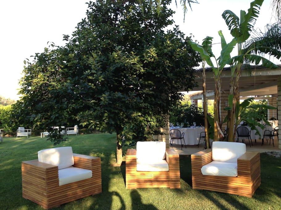 Il giardino di Casa Solares