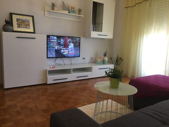 Sunny apartment in Rijeka
