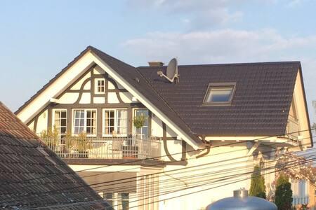 Großzügige Galerie-Ferienwohnung im Winzerhaus - Heitersheim - Ferienunterkunft