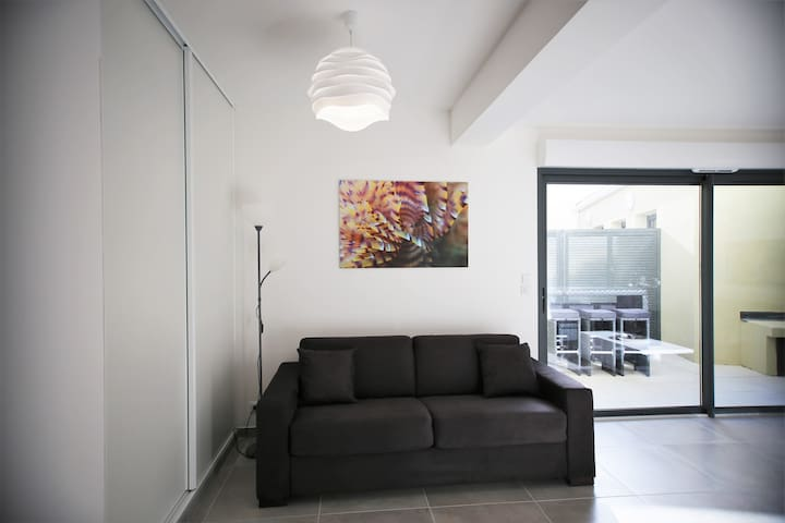 Appartement neuf, calme