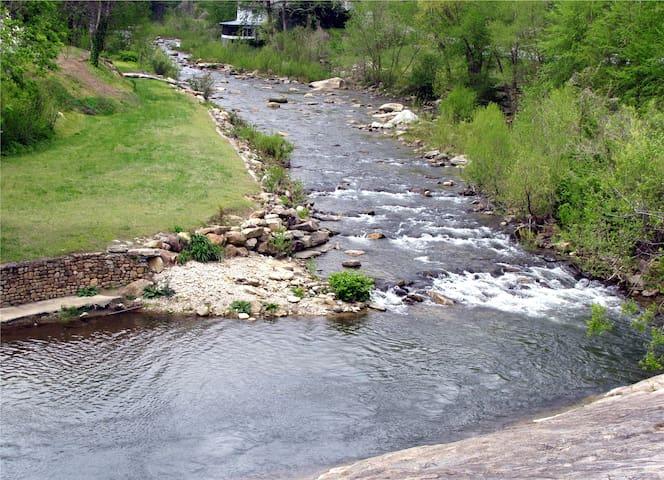 River across the Street