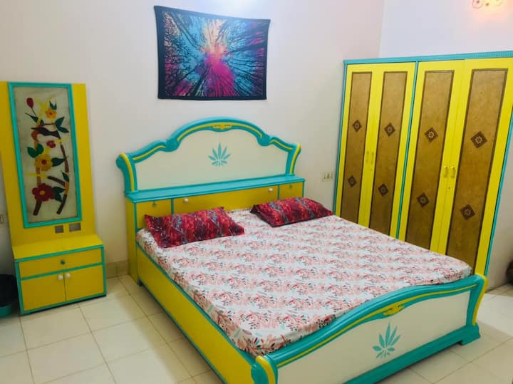 Entire Flat - The Unique and Cozy 2BHK Apartment