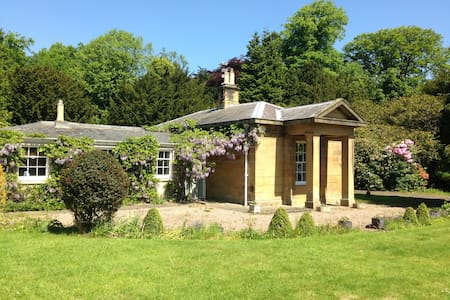 Luxury 3 bedroom lodge in private woodland