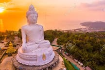 Big Buddha, highest point on the island. Great panoramic views, great for photos on a clear day. Has a visitors center and Buddha museum and gift shop. Well worth a visit.