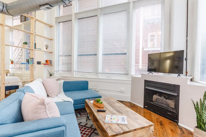 ♥ Vibrant Loft in the Heart of the City