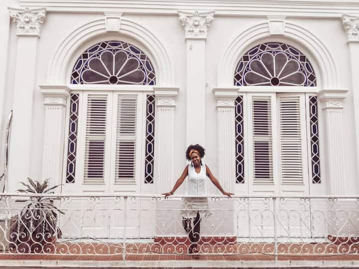 2-dorm. colonial apartment in Old Havana