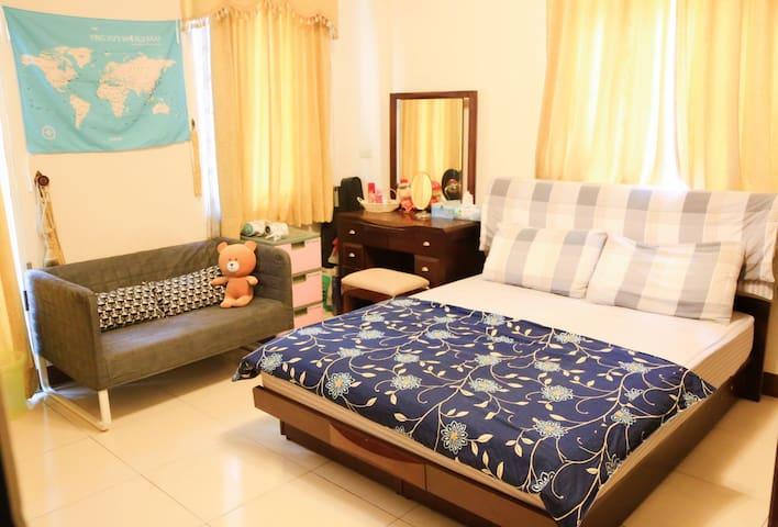 小魚的舒適雙人房2樓房 nice room no.2