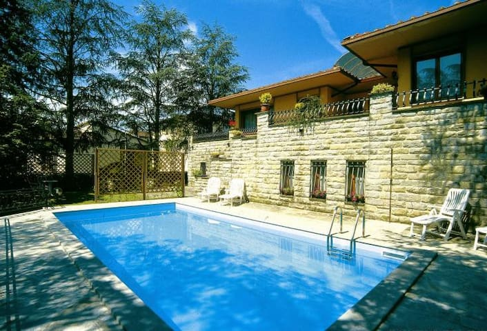 Modern house with jacuzzi and private pool - Vicchio - Vila