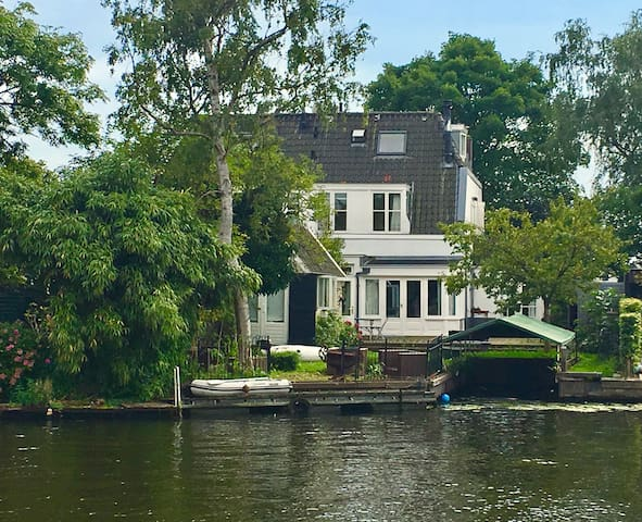 COZY waterfront Mansion near Amsterdam - LONG TERM