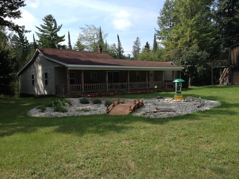 On The Banks of The Au Sable Cottage