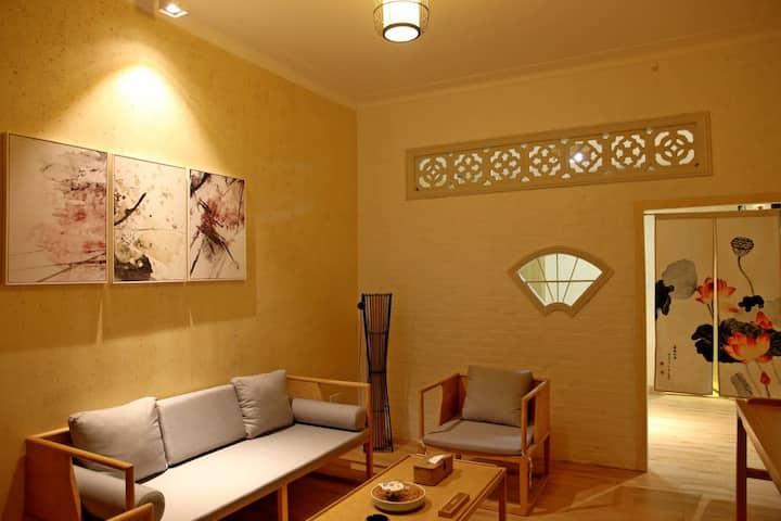 800年历史的南社明清古村内的温馨大床房—沉香2号