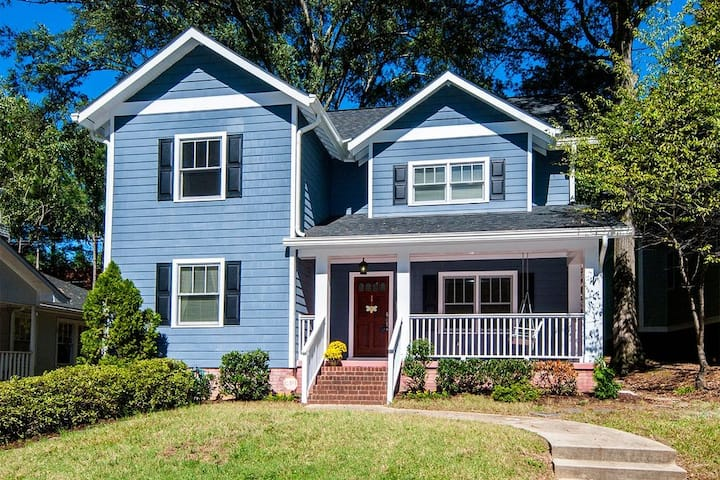 Large, Clean 4 BR in Plaza Midwood/Chantilly.
