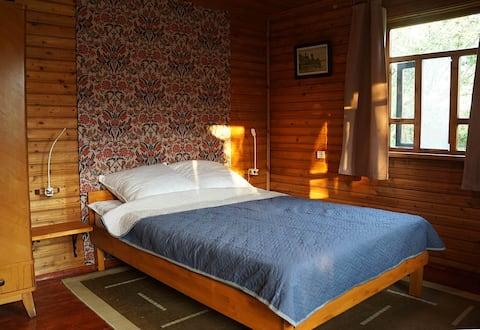 Уютный летний домик с баней недалеко от озера