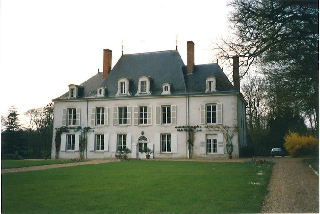 Château de Beaumont façade Sud