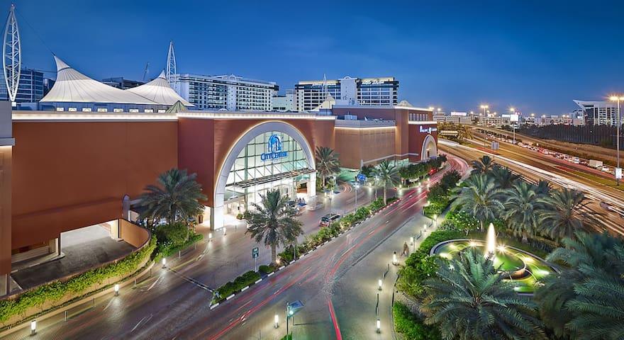 1BR, 2' Walk To Deira City Centre Metro