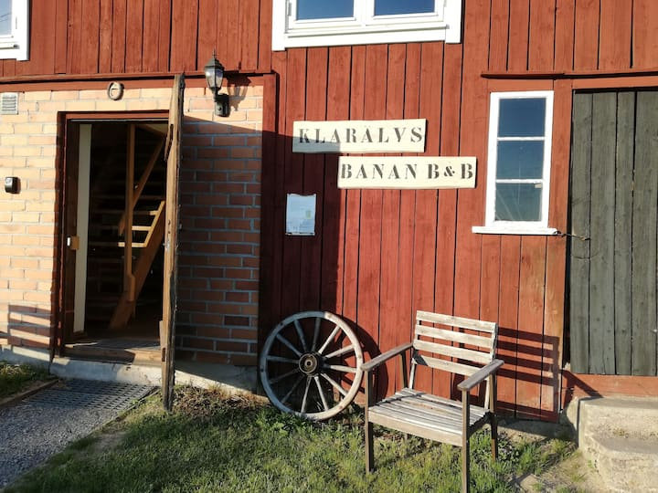 Klarälvsbanan b&b