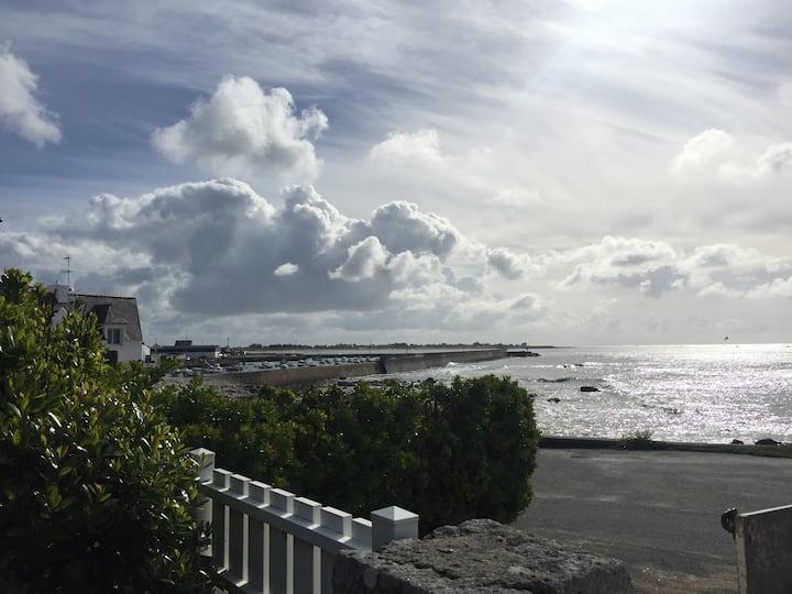 Maison plein sud avec  vue mer exceptionnelle