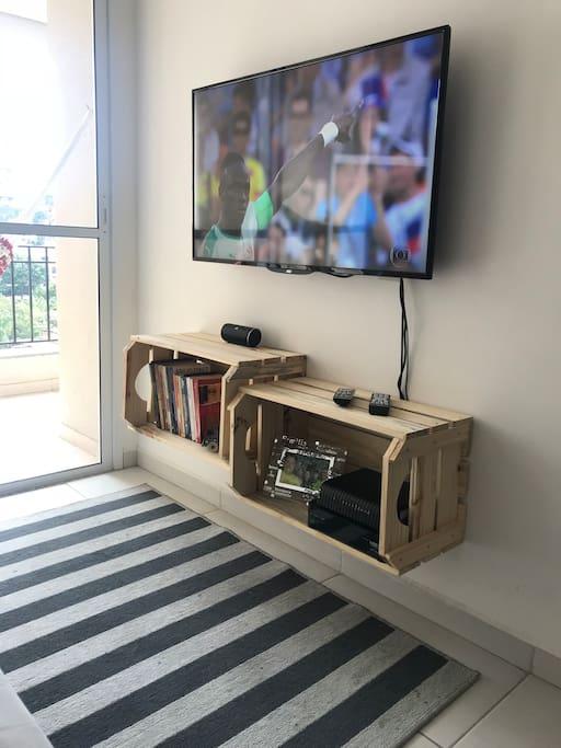 Novo rack da Caixas Bahia