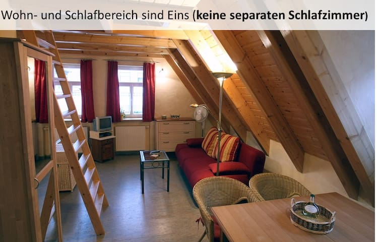 Weingut / FeWo Galena (Sommerach), Ferienwohnung (45qm) mit Küchenzeile