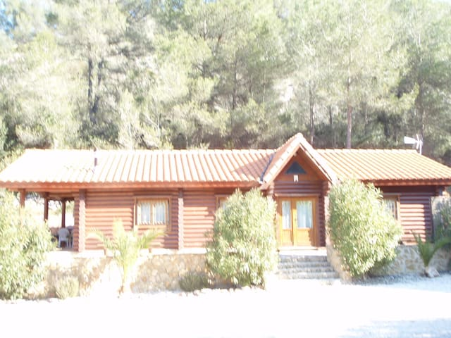 Luxury Self Catering Log Cabins - Simat de la Valldigna - Cabin
