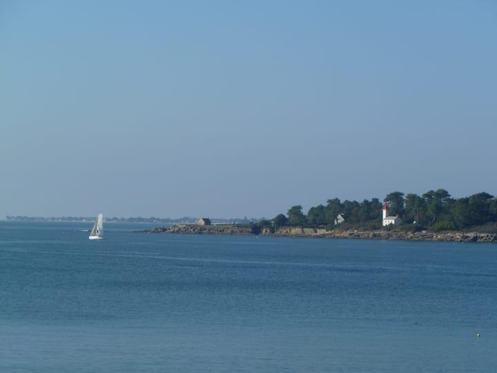 Cosy studio vue mer