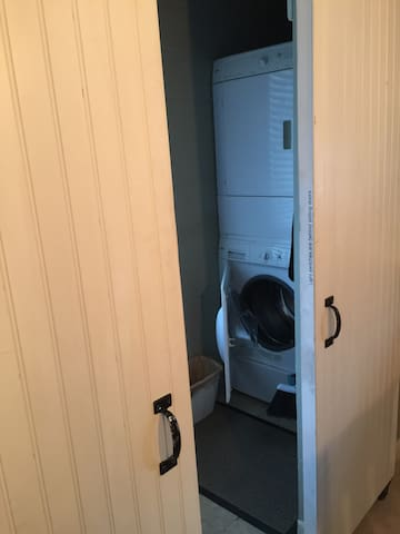 Washer and Dryer (off of kitchen)
