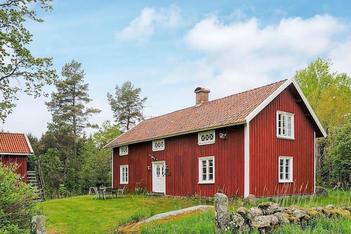 6 personas casa en TRÄDET