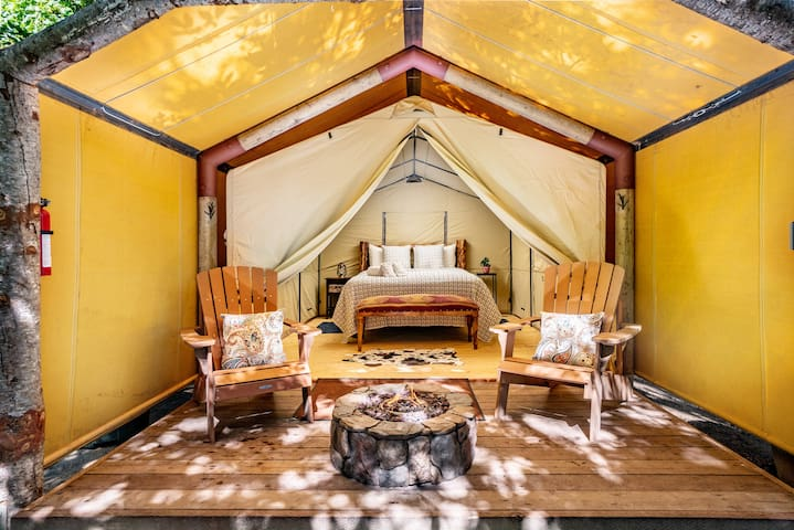 Luxury Tent at Saddle Mountain Ranch